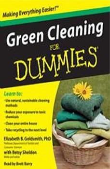 Green Cleaning for Dummies, Elizabeth Goldsmith